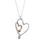 Heart to Heart necklace by Trudy James
